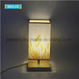 [تبل لمب] يشعل ليفة [لد] داخلا [5و] بيضاء ظل ليل ضوء لأنّ غرفة نوم طاولة ضوء
