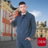 Прозодежды Workwear безопасности механика OEM изготовленный на заказ, прозодежды голубого Jean для людей