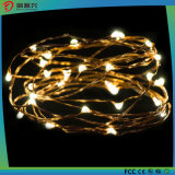 Indicatore luminoso della stringa del collegare di rame LED della decorazione di natale & di festa