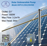 3in zentrifugales Solar-Gleichstrom-Pumpen-Bewässerungssystem 550W