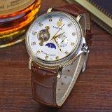 El reloj de 379 lujos para los hombres impermeabiliza el reloj de los hombres mecánicos