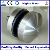 supporto di vetro di 50mm e contrappeso di vetro per la balaustra di vetro