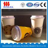 Tazza di carta a parete semplice, tazza di carta del caffè