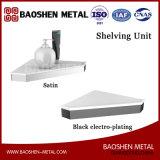 El estante de la materia del conjunto de cepillo del tocador de los accesorios del cuarto de baño en acero inoxidable