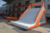 Trasparenza di acqua di galleggiamento gonfiabile variopinta con la parete rampicante (CHW453)
