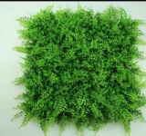 Decoración vertical del recubrimiento de la pared de la hierba del jardín