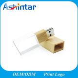 Vara de cristal da memória do USB do USB Pendrive da madeira