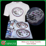 Collant de presse de la chaleur de qualité de Qingyi pour le vêtement