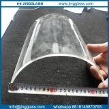 6mm Bent Tempered / Toughened Heat Curved Glass for Building and Furniture
