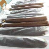 Factory Whoelsale Brazilian Virgin Remy Keratin Extensão do cabelo humano