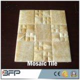 Mosaico di marmo di pietra naturale per le mattonelle della parete della priorità bassa/mattonelle di pavimento