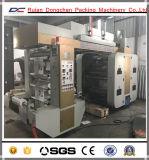 Machine d'impression flexographique à grande vitesse non tissée de roulis de tissu de pp (YT-NX)