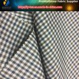 Tejido de poliéster teñido de guinga Tejido para la ropa / chaqueta de abajo (YD1173)