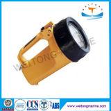 海洋の防水手持ち型の検索ライト携帯用耐圧防爆ライト