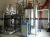 Gás de combustível vertical, petróleo Diesel, caldeira de vapor do petróleo pesado 2000 Kg/Hr