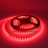 Iluminação de tira 120LEDs/M vermelha do diodo emissor de luz de SMD 2835