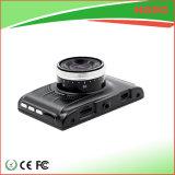 De videorecorder van de Auto DVR van 3.0 Duim met de Zwarte Kleur van Detectoin van de Neerstorting