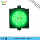 Semáforo de la señal verde LED de la alta calidad 300m m de la ensambladura de camino