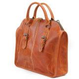 Echtes Leder-Aktenkoffer-Beutel-Modedesigner-Mann-Handtaschen (RS-6013)