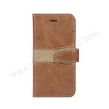 Случай бумажника кожаный крышки телефона iPhone 7 качества OEM наградной