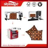 60cm * 90cm Impresión de Modelo de Cordón de Cinta con Máquina Rotativa de Prensa de Calor