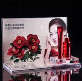 Kosmetischer acrylsauerausstellungsstand, Verfassungs-Organisator, Skincare Flaschen-Vorrichtung, Gegenoberseite-Bildschirmanzeige für Kosmetik