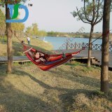 Treking kampierende im Freien bewegliche Baumwollhängematte mit Hängematten-Baum-Brücken