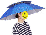 Зонтик шлема Sun дождя малого анти- UV шлема створки рыб миниый головной