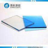 Feuille solide élevée de plastique de polycarbonate de transmission de la lumière
