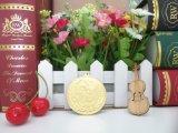 la antorcha del hierro 3D se divierte la medalla con el chapado en oro