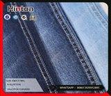 Tecido espessura de algodão Spandex Slub Twill Denim 11.7oz