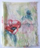 Flower Printing Polyester Beach Pareo / Echarpe (HWBPS007)