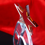 Модный трофей кристаллический стекла для сувенира