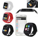 지능적인 시계 U8 인조 인간 형식 건강 적당 손목 시계 잠 모니터 Bluetooth 지능적인 착용할 수 있는 장치