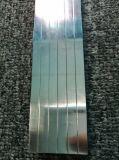 Extrusion d'aluminium/en aluminium argentée anodisée Polished/a expulsé profil