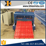 Kxd 840 Dach galvanisierte glasig-glänzende Fliese-Rollen-Maschine