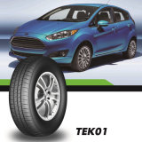 Neumático radial del coche de la marca de fábrica de Tekpro, neumático barato de la polimerización en cadena