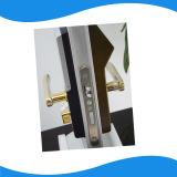 Velocidad de identificación alta Reconocimiento biométrico de la cara Cerraduras de madera de la puerta