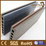 Decking al aire libre plástico de madera del compuesto WPC de Guangdong para la venta al por mayor