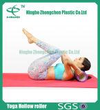 Estera alemana de alto grado hueco más nueva de la yoga, rodillo de la estera de la yoga del PVC