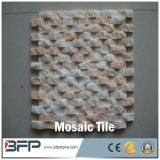 Плитки мозаики популярного типа дешевые мраморный каменные для украшения стены