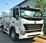 Misturador de cimento SINOTRUK truck, 371máquina de mistura de serviço pesado HP