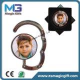 Bourse de miroir de qualité pour la bride de fixation pliable de sac de femmes avec le logo