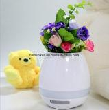 Bac de fleur neuf de musique de haut-parleur de Bluetooth avec la DEL