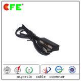 3pin 2Aの電子製品のための磁気ケーブルコネクタ