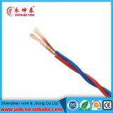 Fil électrique tressé de câble cuivre de deux faisceaux, câble cuivre, câble d'alimentation, câble de twisted pair (BYW-8001)