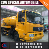 Dongfeng Tianland 8ton 10ton 진공 탱크 하수구 흡입 트럭