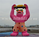 Modello gonfiabile del fumetto della gorilla del gigante 20FT per la pubblicità esterna K2082