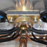 O condicionador de ar do barramento da cidade parte o ventilador 14 do condensador