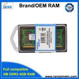 Niedrige Dichte PC3-10600 1333MHz 8bits 4GB DDR3 RAM Laptop